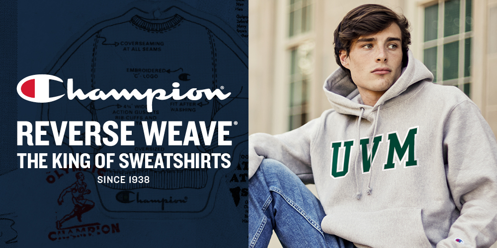 Champion Reverse Weave. The King of Sweatshirts