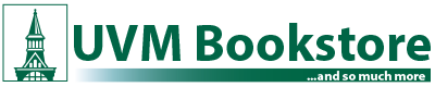 The UVM Bookstore logo