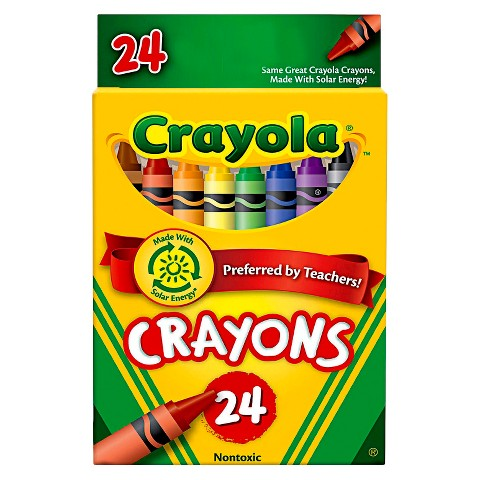 crayola 24 count box of crayons the uvm bookstore