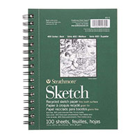 Strathmore Recycled Sketch Book 5.5X8.5""