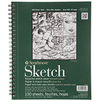 STRATHMORE RECYCLED SKETCHBOOK
