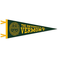 "9"" X 24"" Spellout Seal Pennant"