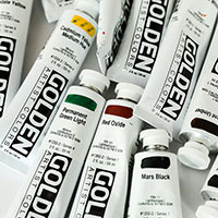 Golden H.B. Acrylic Paint 2 Oz Tube