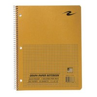 Roaring Springs Graph Paper Wirebound Notebook
