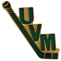 Hockey Stick Uvm Pin