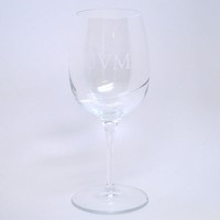 Uvm Swirl Wine Glass