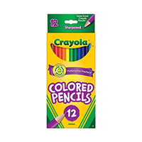 Crayola 12 Pack Colored Pencils