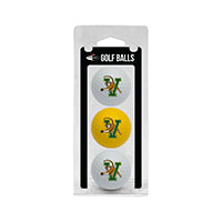 Golf Ball Three Pack (White/Yellow)