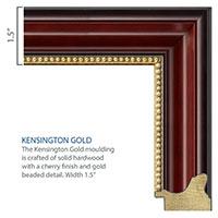 MASTERPIECE MEDALLION KENSINGTON GOLD DIPLOMA FRAME