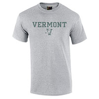 Made In The U.S.A Faded Vermont V/Cat T-Shirt
