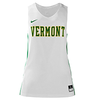 Nike Replica Vermont White Basketball Jersey