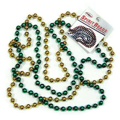 Green & Gold Spirit Beads (SKU 117936181086)