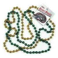 Green & Gold Spirit Beads