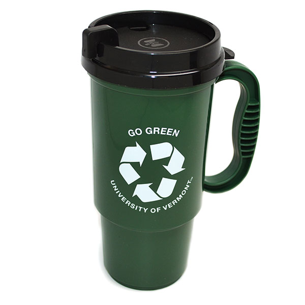 Recycled Plastic Travel Mug