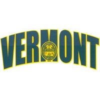Arched Vermont Color Shock Decal