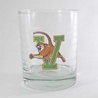 Rocks Glass With V/Cat Logo