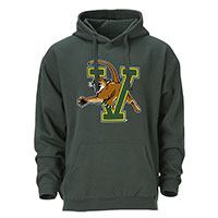 OURAY FULL COLOR V/CAT HOODED SWEATSHIRT