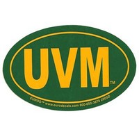 UVM Euro Decal
