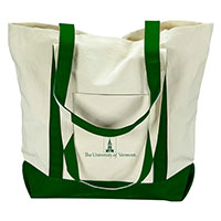 Tower Logo Canvas Tote Bag