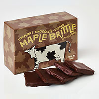 Sweet On Vermont Chocolate Maple Almond Brittle