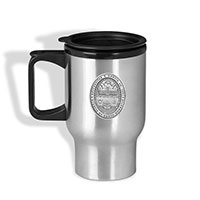 Pewter Emblem Travel Mug