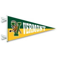 "12"" x 30"" V/CAT SPLIT COLOR PENNANT"