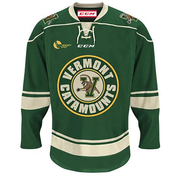 CCM V Cat Circle Logo Lace Up Hockey Jersey 862db56c265