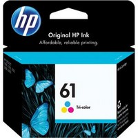 Hp Ink Cartridge #61 Color
