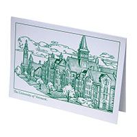 University Row Blank Boxed Notecards