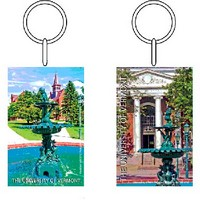 Fountain On The Green Keychain