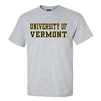 Basics Line University Of Vermont T-Shirt