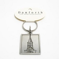 Danforth Tower Logo Keyring