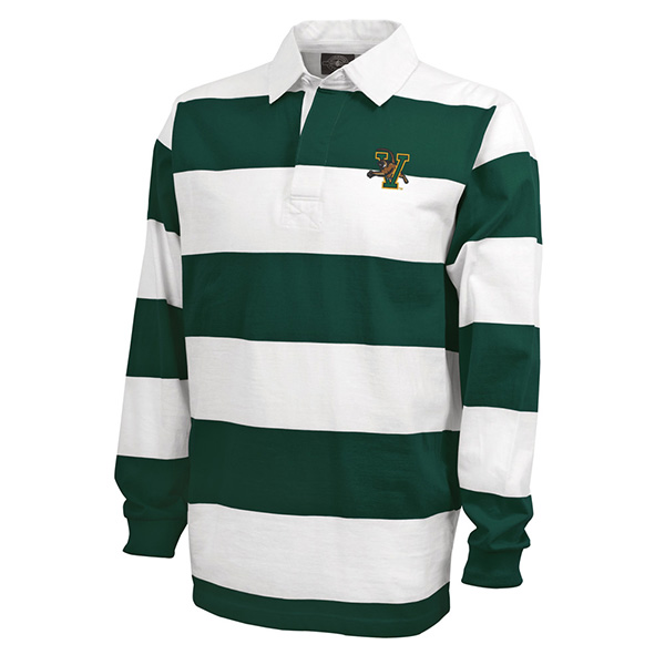 Charles River Classic Wide Stripe V/Cat Rugby Shirt (SKU 122225511059)