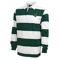 Charles River Classic Wide Stripe V/Cat Rugby Shirt