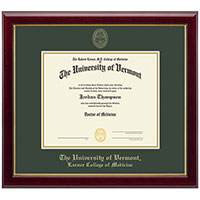Embossed Gallery Medical Diploma Frame