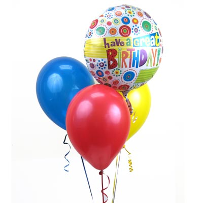 4 Balloon Birthday Special