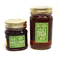 Glass Mason Jar Maple Syrup