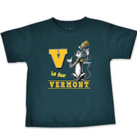 Dr. Suess V Is For Vermont T-Shirt