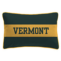 League Jersey Varsi-Tee Vermont Pillow