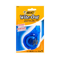 Bic Wite-Out Tape 1Pk