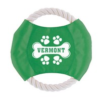 Vermont Bone Rope Disk Toy