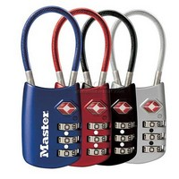 Master T.S.A. Approved Luggage Lock