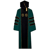Custom UVM Doctoral Regalia