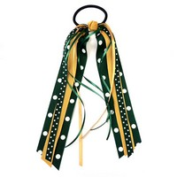 Green & Gold Pony Streamer