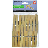 Clothespins 36 Pack