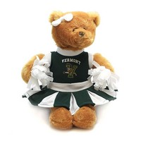 Small V/Cat Cheerleader Bear