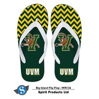 Flip Flops - Chevron V/Cat Pattern