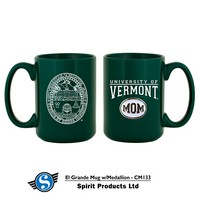 Vermont Mom Medallion Mug