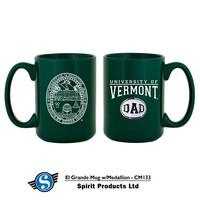 Vermont Dad Medallion Mug