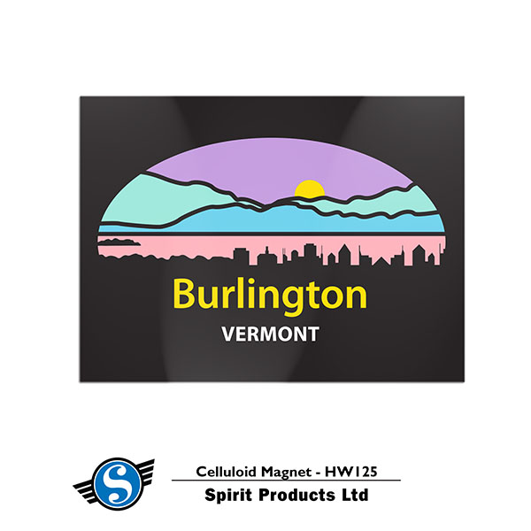 Burlington Vermont Magnet (SKU 123833061200)